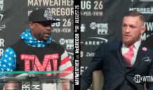 Mayweather To McGregor: 'Sit Quiet You Little B*tch' (VIDEO)