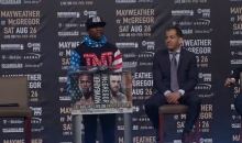 Mayweather: 'I Don't Care If It's In The Ring or The Octagon, I'm Kicking Ass' (VIDEO)