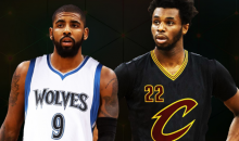 REPORT: Minnesota Timberwolves Exploring A Kyrie Irving Trade For Andrew Wiggins