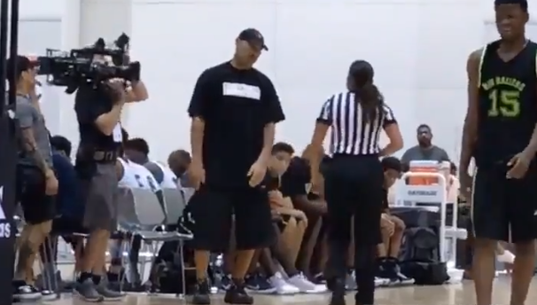 Referee replaced mid-game after giving LaVar Ball technical foul