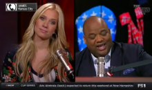 Guy Calls 'The Herd' From Jail & Takes A Shot At Kristine Leahy By Mentioning LaVar Ball (VIDEO)