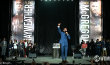 McGregor Gives A Shout Out To All The Stripper B*tches On Mayweather's Payroll (VIDEO)