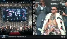 Floyd Mayweather Calls Conor McGregor a Stripper; Proceeds To Make It Rain On Him (VIDEO)