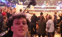 Fan Sneaks Backstage, Joins McGregor's Press Tour Entourage, Documents Entire Thing (VIDEO)
