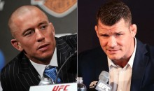 Georges St-Pierre Challenges Michael Bisping to Fight at Madison Square Garden This November