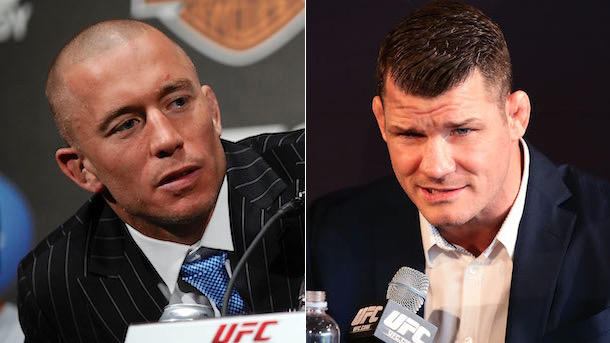 georges st-pierre challenges michael bisping to fight november 4 at madison square garden