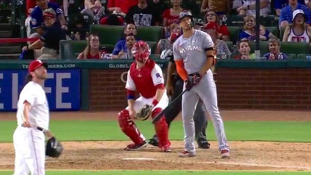 giancarlo stanton home run mocks jason grilli revenge