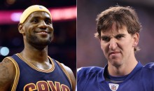 Giants' Damon Harrison Compares Eli Manning to LeBron James, Is Apparently Serious (Video)