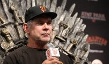 "Bruce Bochy Does Post-Game Interview from Iron Throne Ahead of Giants' ""Game of Thrones"" Night (Pics)"
