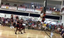 Zion Williamson Destroys Everything (Including Himself) With Epic Block (VIDEOS)