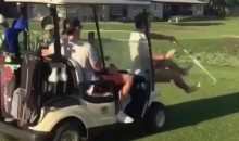 Golf Bros Everywhere Are Running Each Other Over with Golf Carts Because the Internet Told Them To (Video)