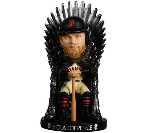 hunter pence game of thrones bobblehead
