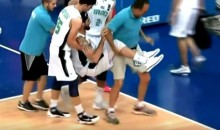 Guy Literally Breaks Iraqi Player's Ankles With Vicious Crossover (VIDEO)