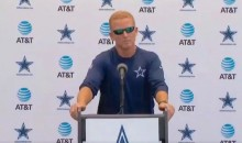 Cowboys Coach Jason Garrett Channels Inner Belichick As Local Media Grills Him About Lucky Whitehead Situation (Video)