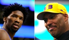 Joel Embiid Says He's Glad He Told LaVar Ball 'F*ck You' On Instagram