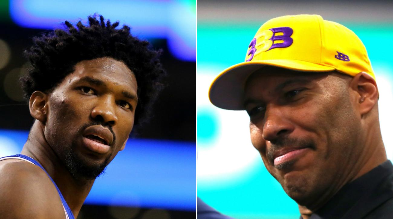 LaVar Ball shoots back at Sixers' Joel Embiid: 'Can't. Play. At. All'