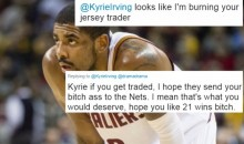 Upset Cavs Fans Are DESTROYING Kyrie Irving For Wanting Trade on Twitter (TWEETS)