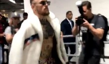 Conor McGregor Arrives At Barclays Center In Style (VIDEO)