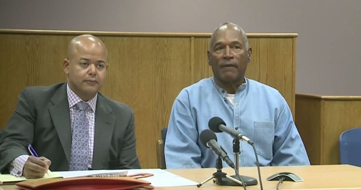 OJ Simpson seeks parole today, could walk free in October