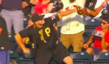 Pirates Fan Catches A Cardinals Home Run Ball, Immediately Tosses It Into The Allegheny River (VIDEO)
