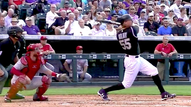 rockies pitcher jon gray crushes 467-foot home run
