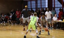 Young Kid Was Destroying LeBron's Son's Team So Bad, They Allegedly Put in a Protest & Questioned Kid's Age