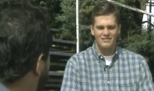 Here's Dweeby Teenaged Tom Brady Doing His First Media Interview (Video)