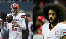Johnny Manziel Says Colin Kaepernick Is 'Good Enough' to Be on an NFL Roster (VIDEO)