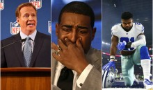 Roger Goodell Confirms Cris Carter Has No Idea What He's Talking About In Regards To Ezekiel Elliott (VIDEO)