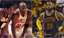 "Michael Jordan Ranks Kobe Over LeBron: ""Five Beats Three"" (VIDEO)"