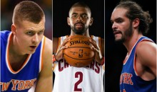 REPORT: Knicks Want Cavs To Take Joakim Noah's Contract In Kyrie Irving For Kristaps Porzingis Trade
