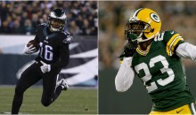 Packers' Damarious Randall Tells Eagles' Bryce Treggs' 'Broke Ass' To Stop Playing Dirty