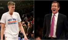 REPORT: Kristaps Porzingis Skipped Exit Meeting After Jeff Hornacek Called Him A 'P*ssy'