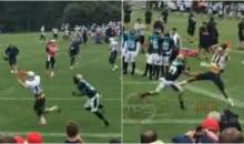 Patriots WR Julian Edelman Roasts Jaguars In Joint Practice (VIDEO)