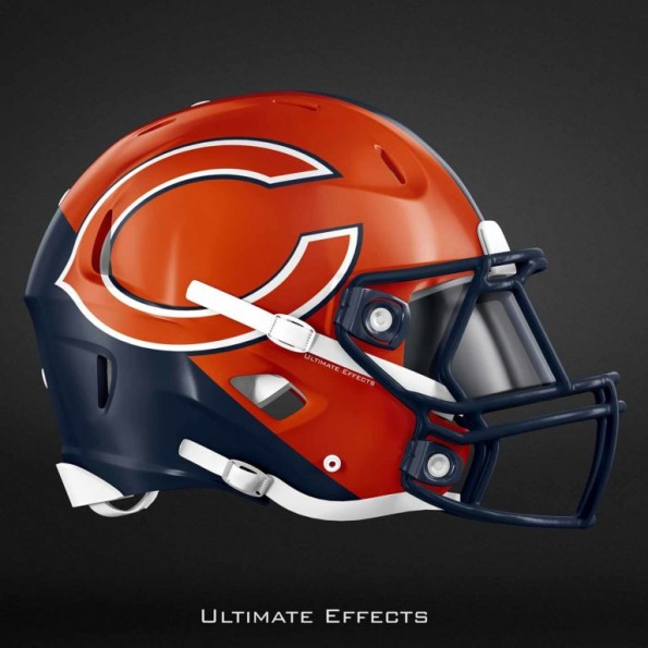 Creative Designer Creates Awesome Concept Helmets For All 32 NFL ... 6736cc201