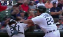 Miguel Cabrera and Austin Romine Throw Haymakers During EPIC Yanks-Tigers Brawl (VIDEO)