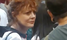 Susan Sarandon Also Attended Kaepernick Rally, 'I Stand With Colin' (VIDEO)