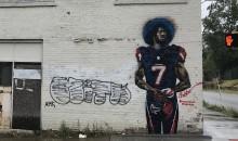 City of Atlanta Has a Colin Kaepernick Mural In a Falcons Jersey (PICS)