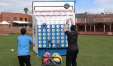Couple of Guys Construct Basketball-Inspired 'Connect 4′ Game (VIDEO)