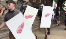 Detroit Red Wings Denounce Use of Logo In Charlottesville Riot By White Supremacists (VIDEO)