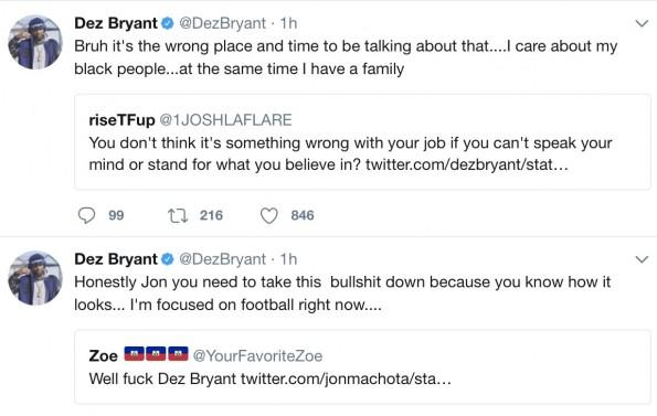 Social Media Goes Off On Dez Bryant For Refusing To Speak
