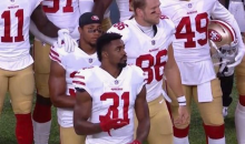 49ers' Eric Reid Says He Kneeled For Anthem After Speaking With Colin Kaepernick