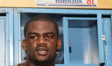 Former Giants TE Adrien Robinson Arrested With 25 Pounds of Weed