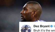 Dez Bryant Won't Comment on Anthem Protests Because He Has A Family To Feed (TWEETS)