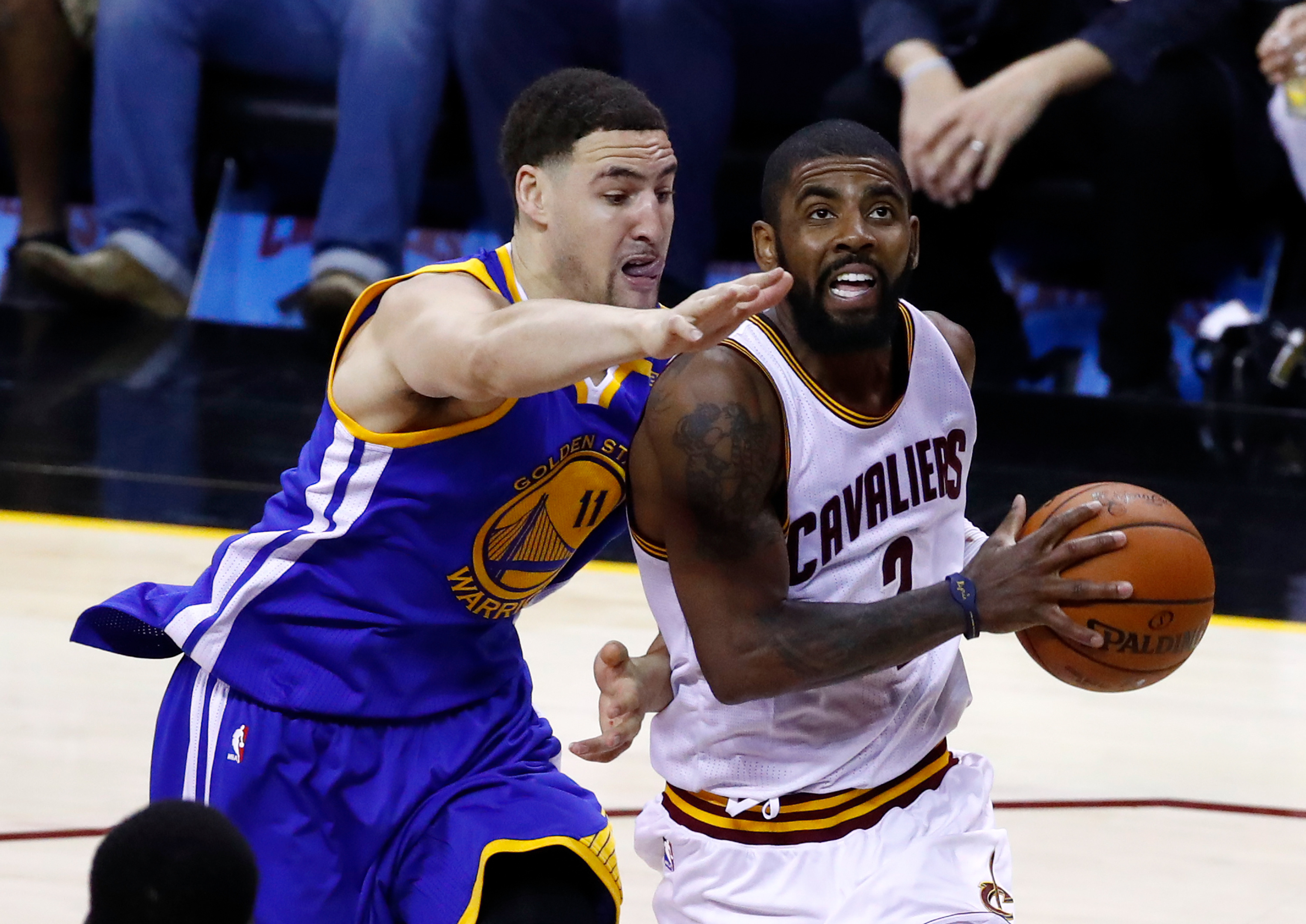 The Cavaliers Called The Warriors About Trading Kyrie Irving For Klay Thompson