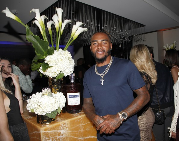 Martell Cognac Hosts Talent Resources Sports Party in Los Angeles, California at Playboy Headquarters