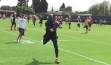 Watch A 54-Year-Old Jerry Rice Run Some Routes At 49ers Practice (VIDEO)