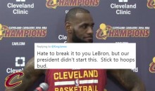 Social Media Goes OFF On LeBron For Blaming Donald Trump For Charlottesville Protests (TWEETS)