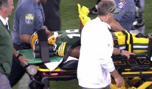 Packers Rookie Malachi Dupree Stretchered Off Field Following Brutal Hit in First Preseason Game (VIDEO)