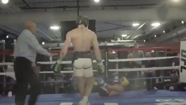 McGregor Malignaggi video